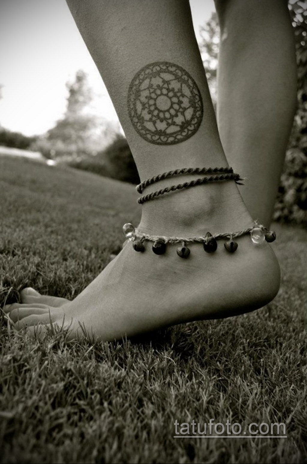 Фото рисунка тату мандала 22.11.2020 №467 -Mandala tattoo- tatufoto.com