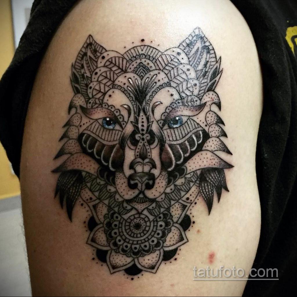 Фото рисунка тату мандала 22.11.2020 №584 -Mandala tattoo- tatufoto.com