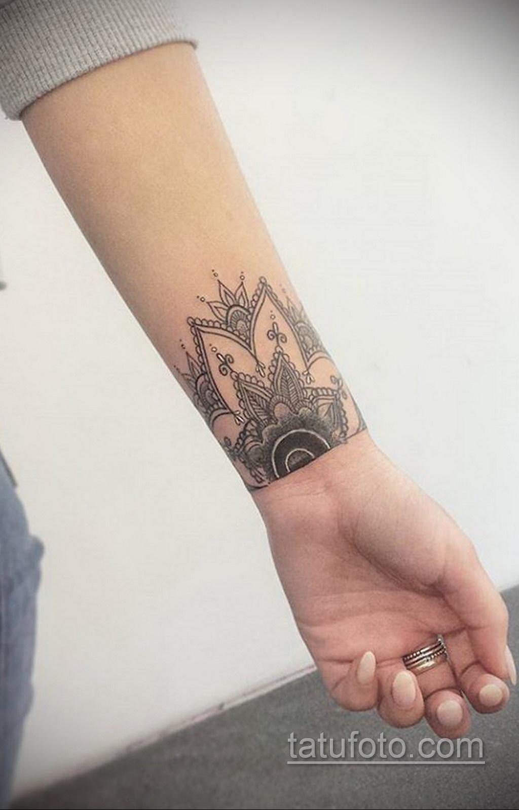 Фото рисунка тату мандала 22.11.2020 №648 -Mandala tattoo- tatufoto.com