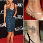 Denise Richards tattoo - Дениз Ричардс тату - фото 1