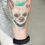 Пример Татуировки Чихуахуа 16.12.2020 №215 -Chihuahua Tattoo- tatufoto.com