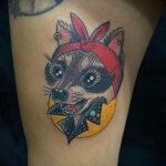 Пример Татуировки Чихуахуа 16.12.2020 №226 -Chihuahua Tattoo- tatufoto.com