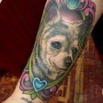 Пример Татуировки Чихуахуа 16.12.2020 №229 -Chihuahua Tattoo- tatufoto.com