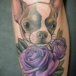 Пример Татуировки Чихуахуа 16.12.2020 №238 -Chihuahua Tattoo- tatufoto.com