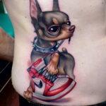Пример Татуировки Чихуахуа 16.12.2020 №240 -Chihuahua Tattoo- tatufoto.com