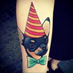 Пример Татуировки Чихуахуа 16.12.2020 №243 -Chihuahua Tattoo- tatufoto.com