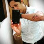 Пример рисунка татуировки про велосипед 15.12.2020 №237 -bike tattoo- tatufoto.com