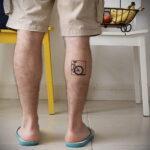 Пример рисунка татуировки про велосипед 15.12.2020 №254 -bike tattoo- tatufoto.com
