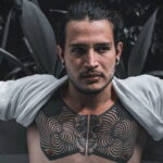 Рисунок мужской татуировки 29.12.2020 №057 -drawing of male tattoo- tatufoto.com