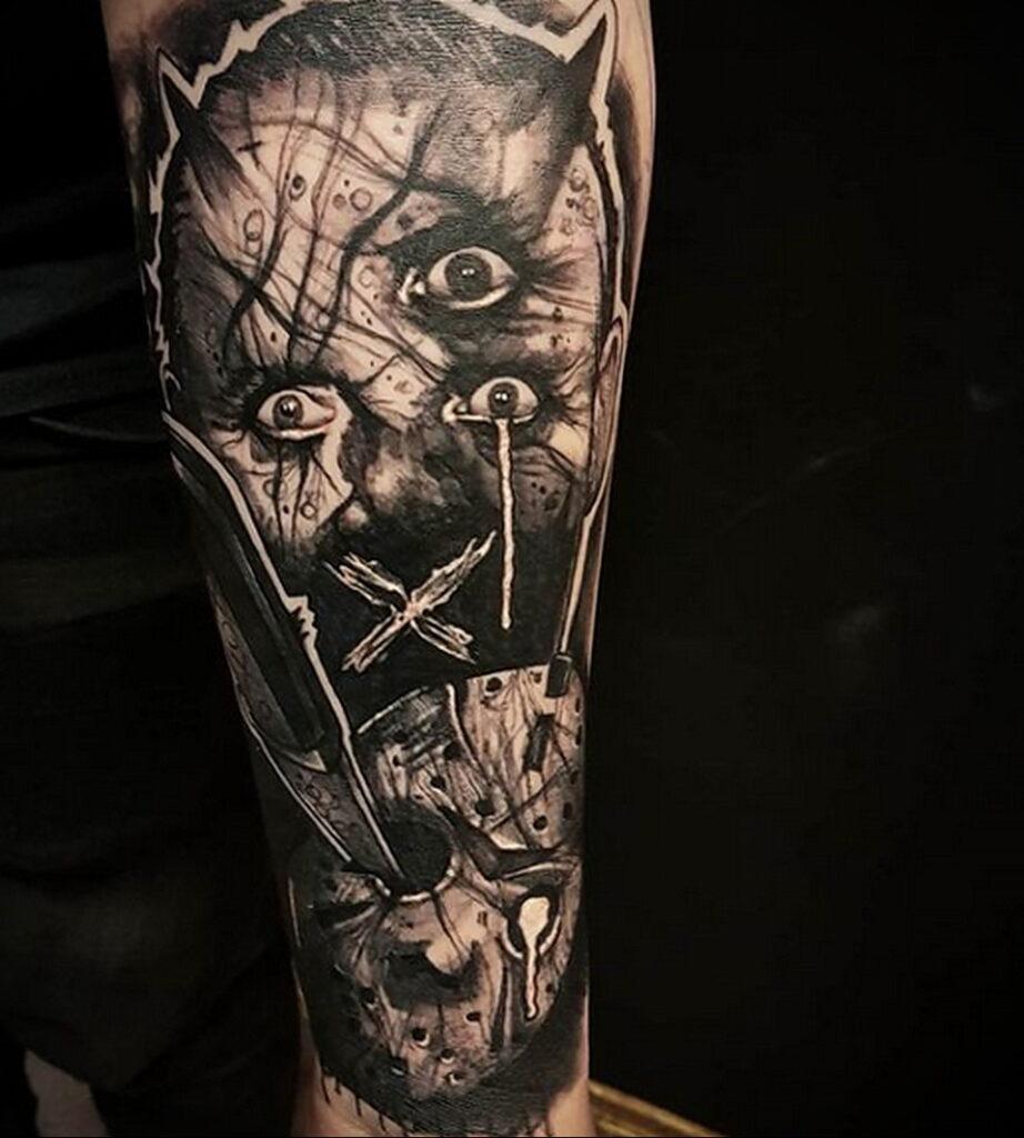 Ганнибал Лектер – фото тату 13.01.2021 №0003 -Hannibal Lecter Tattoo- tatufoto.com