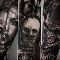 Ганнибал Лектер – фото тату 13.01.2021 №0005 -Hannibal Lecter Tattoo- tatufoto.com