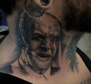 Ганнибал Лектер – фото тату 13.01.2021 №0070 -Hannibal Lecter Tattoo- tatufoto.com