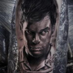 Декстер Морган – фото тату 13.01.2021 №0005 -Dexter morgan tattoo- tatufoto.com