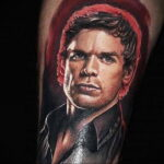 Декстер Морган – фото тату 13.01.2021 №0007 -Dexter morgan tattoo- tatufoto.com