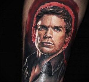 Декстер Морган – фото тату 13.01.2021 №0007 -Dexter morgan tattoo- tatufoto.com