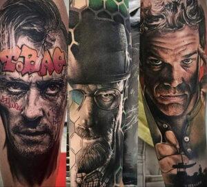 Декстер Морган – фото тату 13.01.2021 №0019 -Dexter morgan tattoo- tatufoto.com