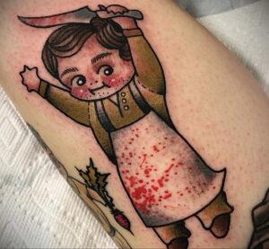 Декстер Морган – фото тату 13.01.2021 №0032 -Dexter morgan tattoo- tatufoto.com