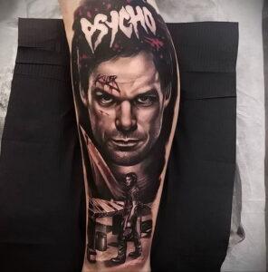 Декстер Морган – фото тату 13.01.2021 №0036 -Dexter morgan tattoo- tatufoto.com