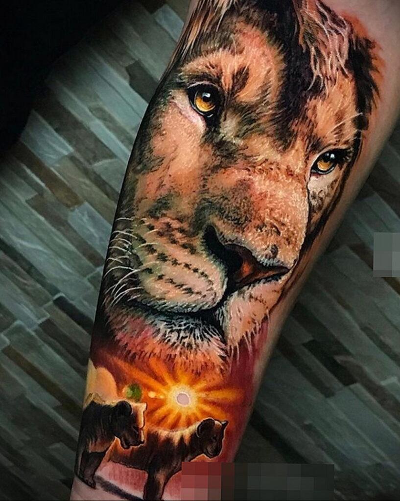 Пример качественного рисунка татуировки 02.01.2021 №361 -quality tattoo- tatufoto.com