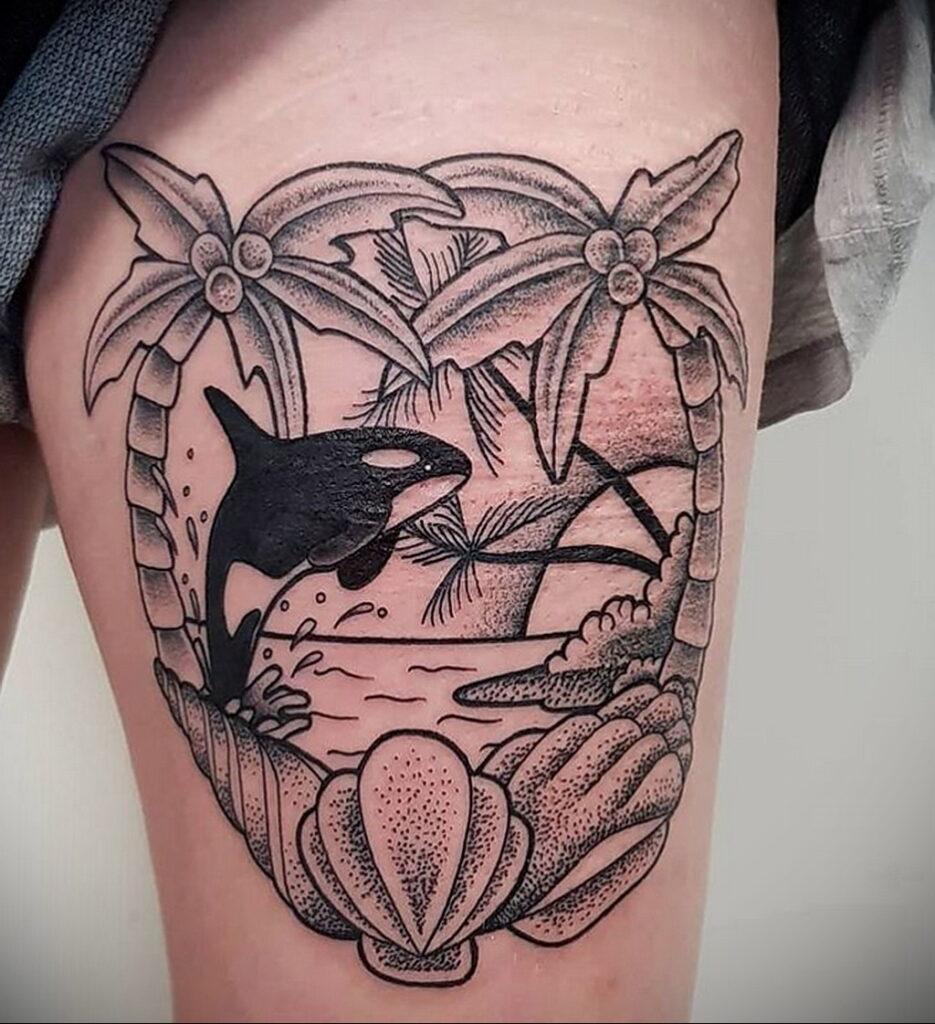 Пример качественного рисунка татуировки 02.01.2021 №363 -quality tattoo- tatufoto.com