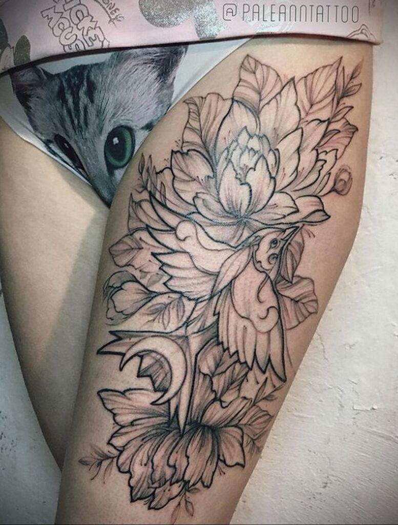 Пример качественного рисунка татуировки 02.01.2021 №364 -quality tattoo- tatufoto.com