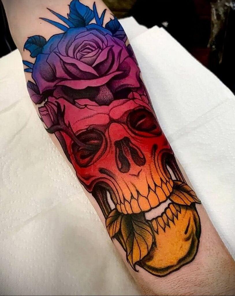 Пример качественного рисунка татуировки 02.01.2021 №367 -quality tattoo- tatufoto.com