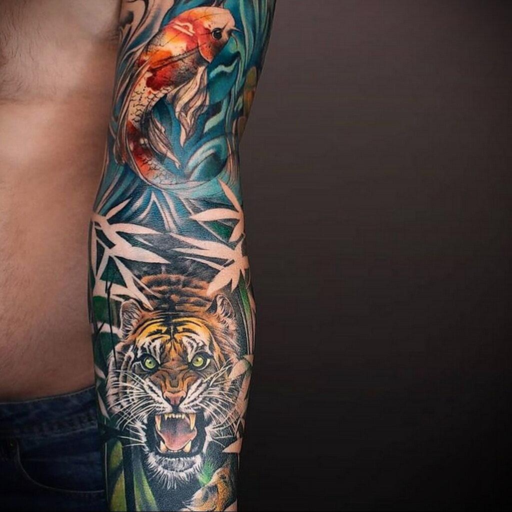 Пример качественного рисунка татуировки 02.01.2021 №369 -quality tattoo- tatufoto.com