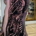 Пример качественного рисунка татуировки 02.01.2021 №390 -quality tattoo- tatufoto.com