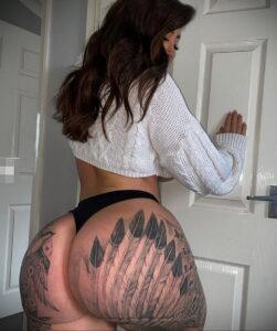Тату Ханна Джейн Хотчкис 12.01.2021 №0001 -Hannah Jane Hotchkiss tattoo- tatufoto.com