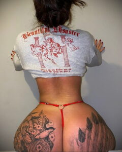 Тату Ханна Джейн Хотчкис 12.01.2021 №0014 -Hannah Jane Hotchkiss tattoo- tatufoto.com