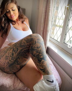 Тату Ханна Джейн Хотчкис 12.01.2021 №0037 -Hannah Jane Hotchkiss tattoo- tatufoto.com