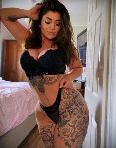 Тату Ханна Джейн Хотчкис 12.01.2021 №0043 -Hannah Jane Hotchkiss tattoo- tatufoto.com