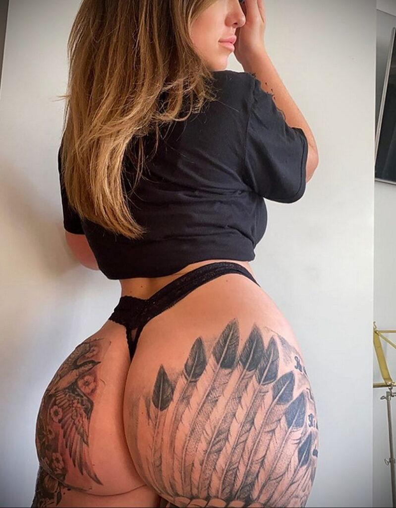 Тату Ханна Джейн Хотчкис 12.01.2021 №0048 -Hannah Jane Hotchkiss tattoo- tatufoto.com