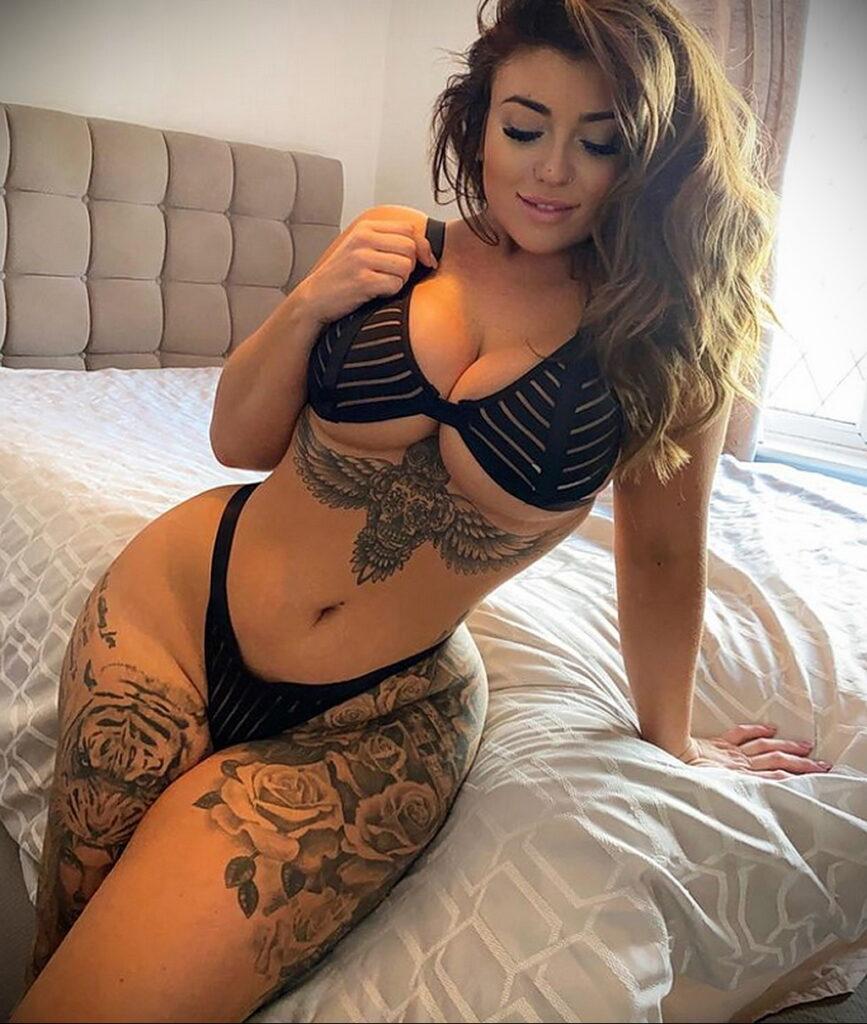 Тату Ханна Джейн Хотчкис 12.01.2021 №0050 -Hannah Jane Hotchkiss tattoo- tatufoto.com