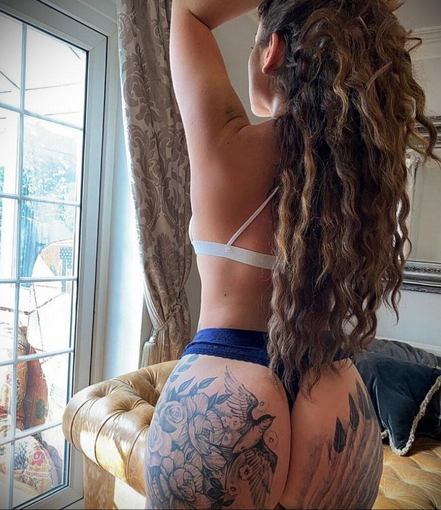 Тату Ханна Джейн Хотчкис 12.01.2021 №0054 -Hannah Jane Hotchkiss tattoo- tatufoto.com
