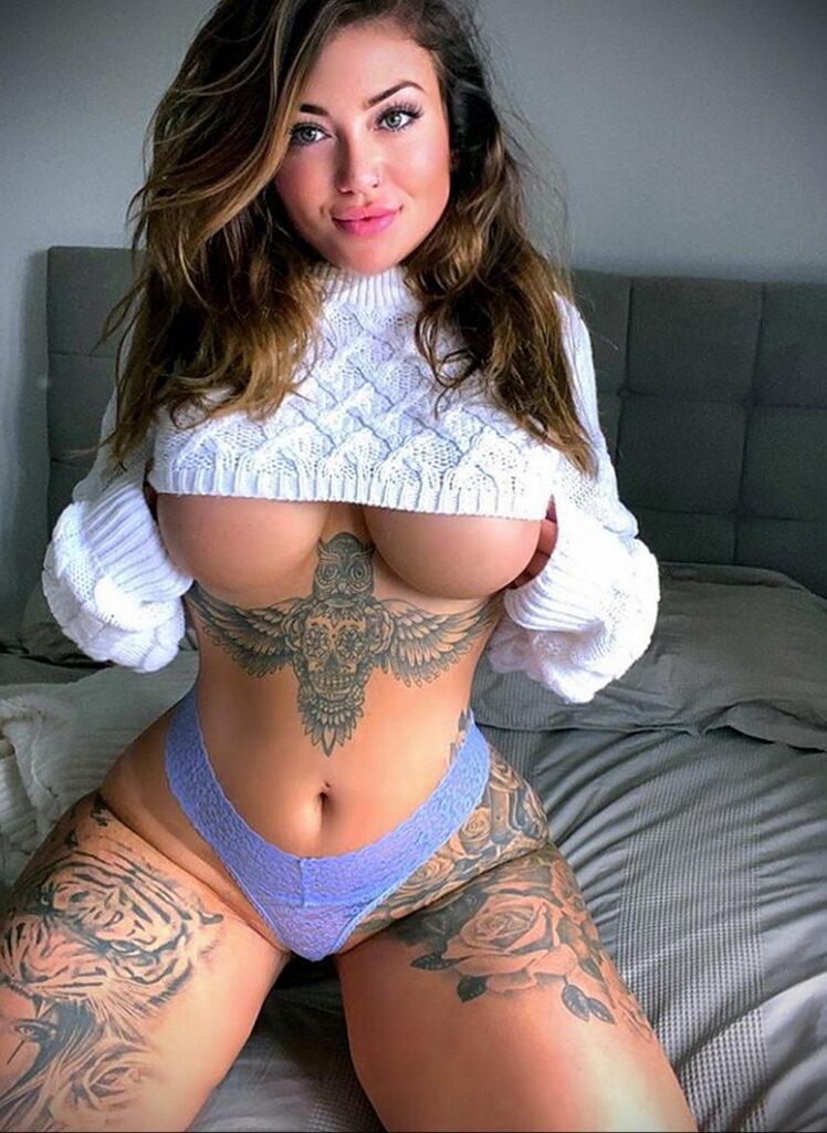 Тату Ханна Джейн Хотчкис 12.01.2021 №0060 -Hannah Jane Hotchkiss tattoo- tatufoto.com