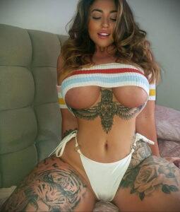 Тату Ханна Джейн Хотчкис 12.01.2021 №0067 -Hannah Jane Hotchkiss tattoo- tatufoto.com
