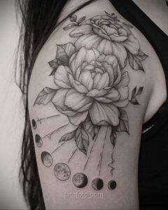 Тату астрономия и космос 11.01.2021 №0041 -astronomy and space tattoo- tatufoto.com