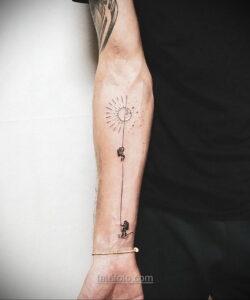 Тату астрономия и космос 11.01.2021 №0102 -astronomy and space tattoo- tatufoto.com