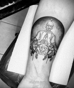 Тату астрономия и космос 11.01.2021 №0114 -astronomy and space tattoo- tatufoto.com