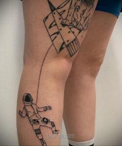 Тату астрономия и космос 11.01.2021 №0118 -astronomy and space tattoo- tatufoto.com