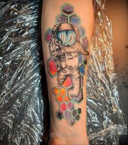 Тату астрономия и космос 11.01.2021 №0120 -astronomy and space tattoo- tatufoto.com