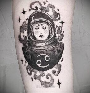 Тату астрономия и космос 11.01.2021 №0138 -astronomy and space tattoo- tatufoto.com