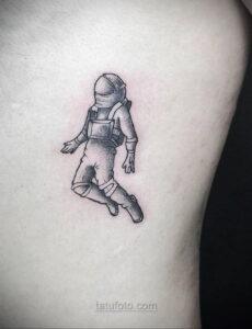 Тату астрономия и космос 11.01.2021 №0193 -astronomy and space tattoo- tatufoto.com