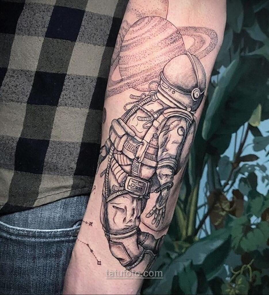 Тату астрономия и космос 11.01.2021 №0194 -astronomy and space tattoo- tatufoto.com
