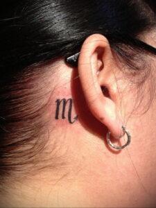 Фото Тату скорпион на шее 16.01.2021 №0003 -scorpion tattoo on neck- tatufoto.com