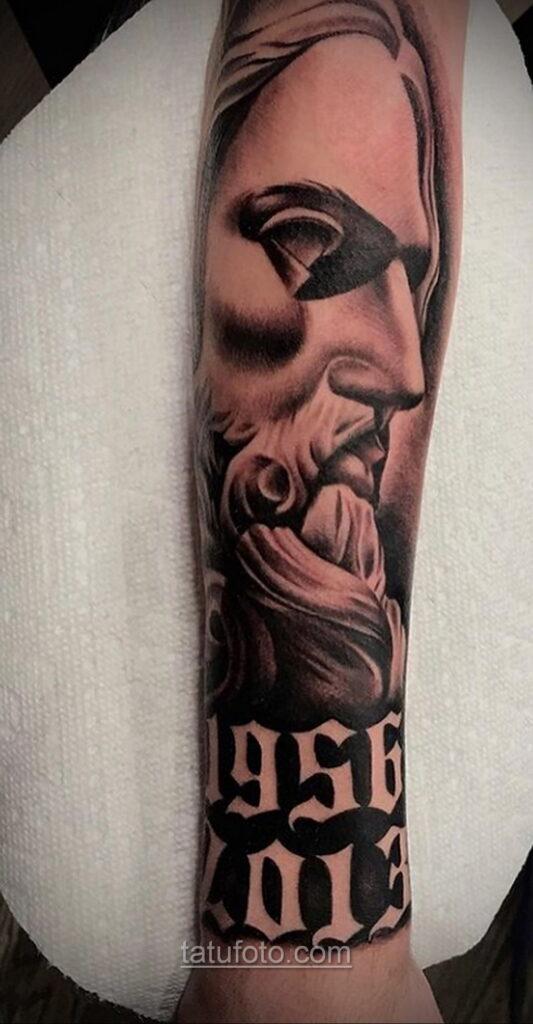 Фото Тату с Иисусом Христом 11.01.2021 №10114 -jesus tattoo- tatufoto.com