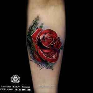 Фото женского цветного рисунка тату 09.01.2021 №1042 -color female tattoo- tatufoto.com