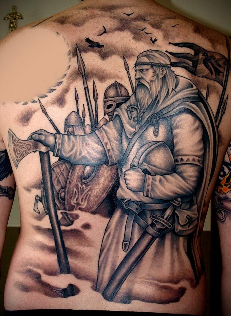 Фото интересного рисунка татуировки 08.01.2021 №1018 -interesting tattoo- tatufoto.com