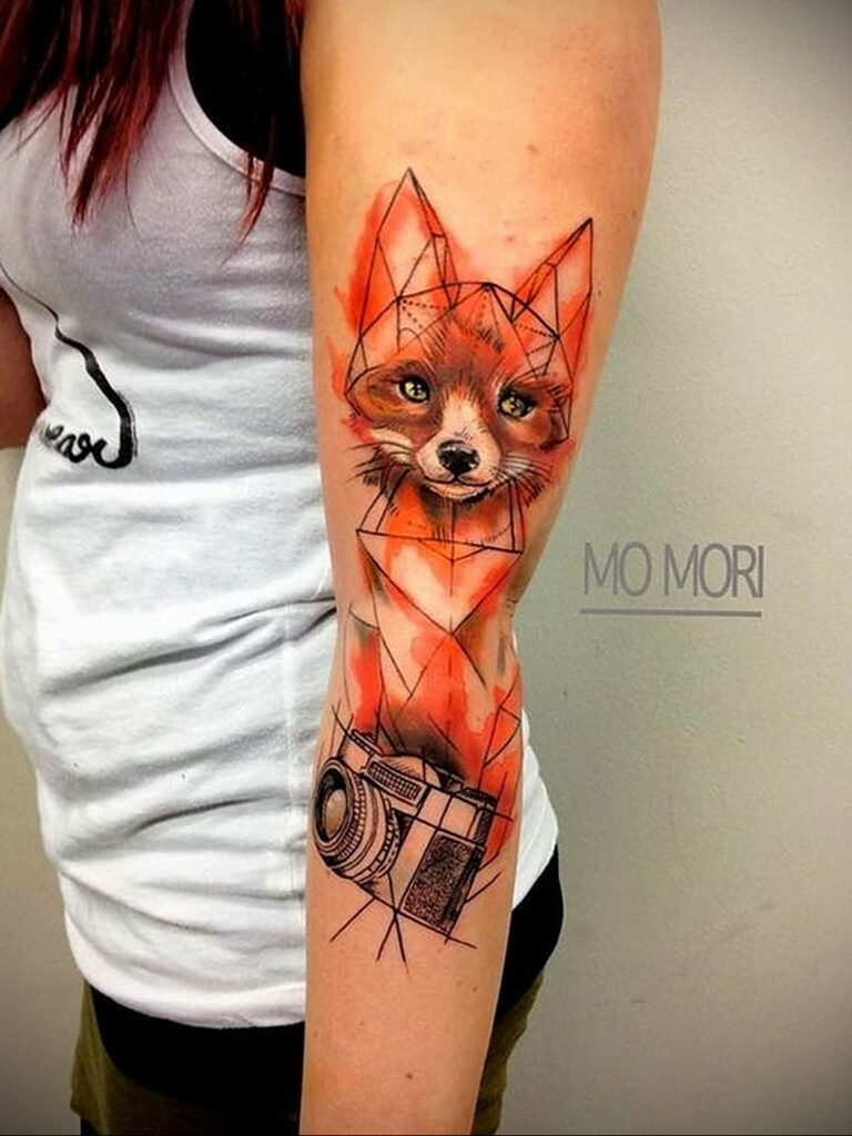 Фото интересного рисунка татуировки 08.01.2021 №1020 -interesting tattoo- tatufoto.com